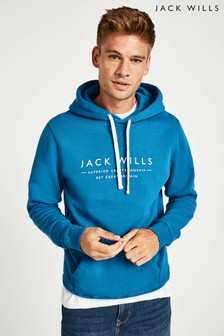 Jack Wills Marine Batsford Wills Popover Hoody