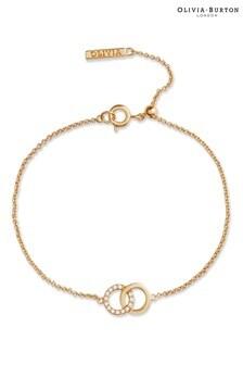 Olivia Burton Bejewelled Interlink Chain Bracelet