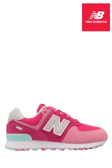 New Balance Pink 574 Youth Trainer