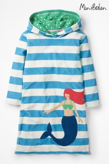 Boden Blue Fun Towelling Beach Dress