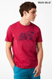 White Stuff Red Bird Graphic Tee