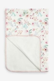 Floral Blanket (Newborn)