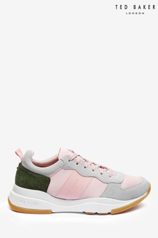 Ted Baker Pink Satin Trainers