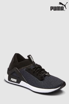 Puma® Black/White Rogue Run Trainer
