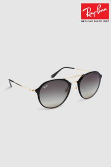 Ray-Ban® Black Blaze Doublebridge Sunglasses