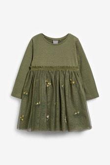 Вечернее платье с вышивкой (3 мес.-7 лет)