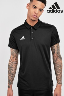 adidas Black Core18 Polo