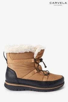 Carvela Comfort Tan Rudy Snow Boots