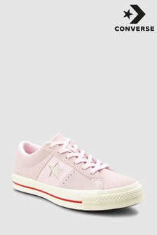 Converse Pink One Star Mix Trainer