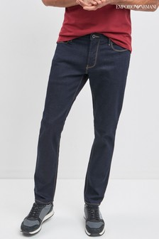 Emporio Armani J06 Slim-Fit Jeans in Rinse-Waschung