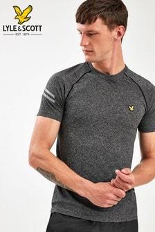 Lyle & Scott Sport Black Seamless Running T-Shirt