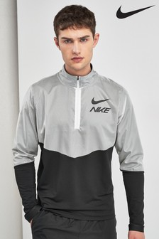 Nike Element Black/White Flash 1/4 Zip Top