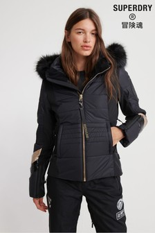 Superdry Black Snow Jacket