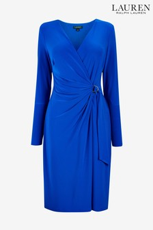 Lauren Ralph Lauren® Blue Casondra Dress