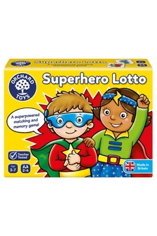 Orchard Toys Superhero Lotto