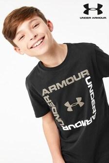T-shirt Under Armour noir à logo