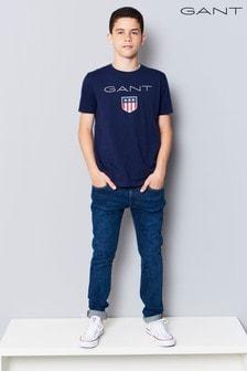 جينز ضيق أزرق متوسط من GANT Teen