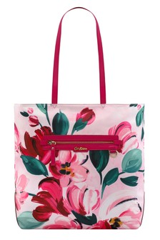 Cabas Cath Kidston® Aster Paintbox Flowers rose grand format