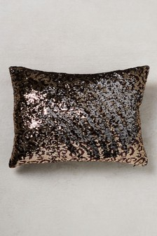 Leopard Sequin Cushion