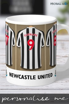 Personalised Newcastle United Mug by Personalised Football Gifts