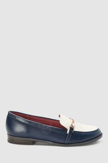 Twist Hardware Detail Loafers