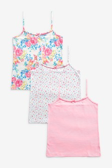 Floral Camis Three Pack (1.5-16yrs)