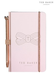 Ted Baker A7 Notebook And Ballpoint Pen