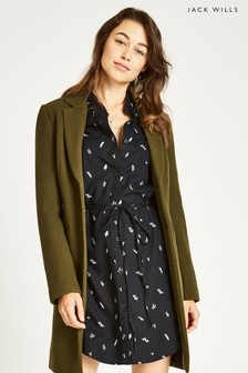 Jack Wills Black Hollingfast Shirt Dress