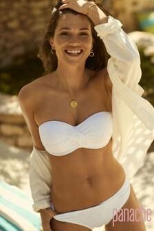 Panache Anya Häkel-Bikinihose, weiß