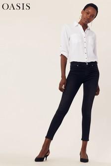 Oasis Black Lily Skinny Jean