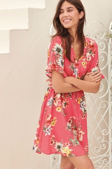 26ccbfa239f47 Tea Dresses | 40s & 50s Style Tea Dresses | Next Official Site