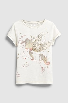 Sequin Graphic T-Shirt (3-16yrs)