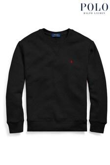 Ralph Lauren Black Logo Sweatshirt