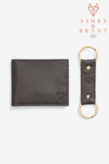 Ashby & Brant Wallet And Keyring Set
