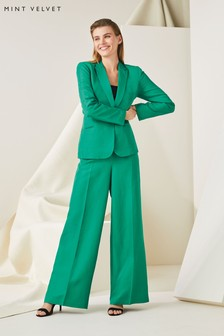 Mint Velvet Ivy Tailored Wide Leg Trouser