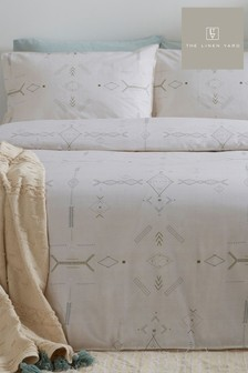 Mini Inka Duvet Cover and Pillowcase Set by The Linen Yard