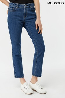 Monsoon Ladies Blue Skye Regular Length Jean