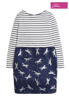 Joules Blue Orianne Cocoon Dress