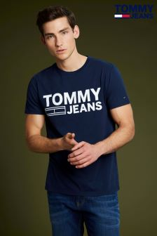 Tommy Jeans Blue Classic Logo T-Shirt