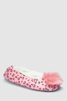 Pom Pom Ballet Slippers (Older)