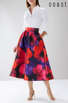 Coast Red Cosette Meslita Skirt