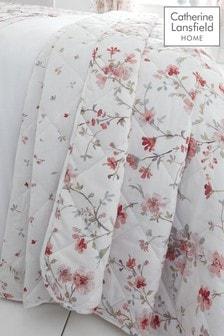 Jasmine Floral Throw by Catherine Lansfield