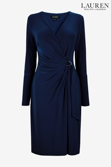 Lauren Ralph Lauren® Navy Casondra Dress
