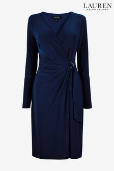 Lauren Ralph Lauren® Casondra Kleid, Marineblau
