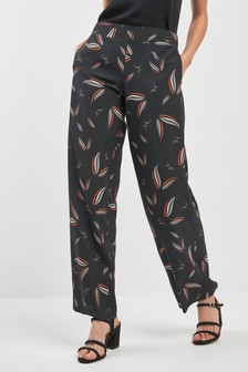 Butterfly Print Co-Ord Trousers