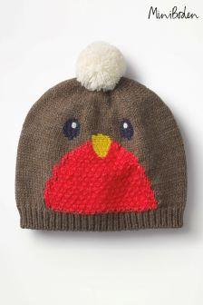 כובע של Boden דגם Festive בחום