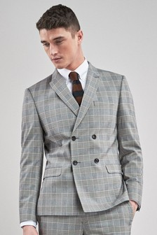 6c2cd3c32df63b Mens Double Breasted Suit Jackets | Workwear Jackets | Next Ireland