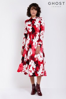 Ghost London Daisy Print Frances Dress
