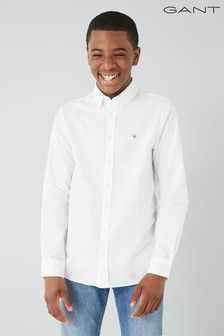 GANT Teen White Archive Oxford Shirt