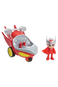 PJ Masks Speed Booster Vehicle And Figure Catboy
